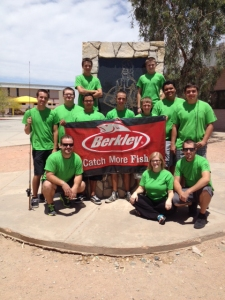 Lake Havasu City High School Anglers fishing club members celebrate win of Berkley Challenge